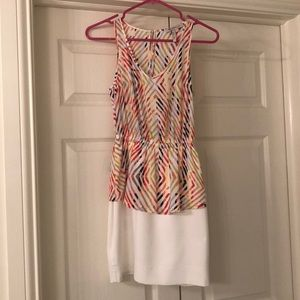 BCBGENERATION peplum dress